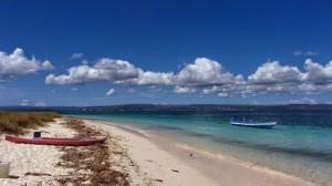 Pantai barat Pulau Kera (Foto oleh Edyra Guapo)